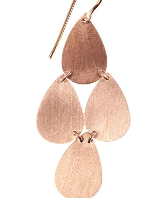 Irene Neuwirth | Pink Rose-Gold Chandelier Earrings | Lyst