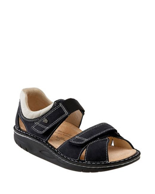 Finn Comfort | Blue Finnamic By 'samara' Walking Sandal | Lyst