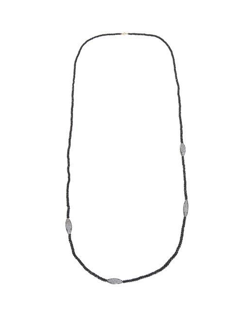 Maha Lozi | Black Serpentine Necklace | Lyst