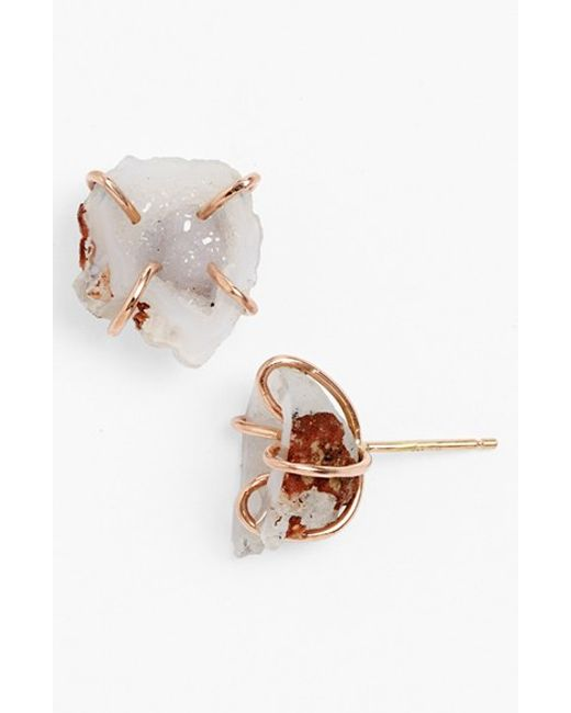 Melissa Joy Manning | Metallic Stud Earrings | Lyst