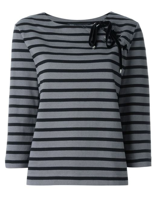 Marc by marc jacobs lace up detail three quarter length for Three quarter length shirt