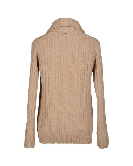 g star raw jumper in beige for men save 60 lyst. Black Bedroom Furniture Sets. Home Design Ideas