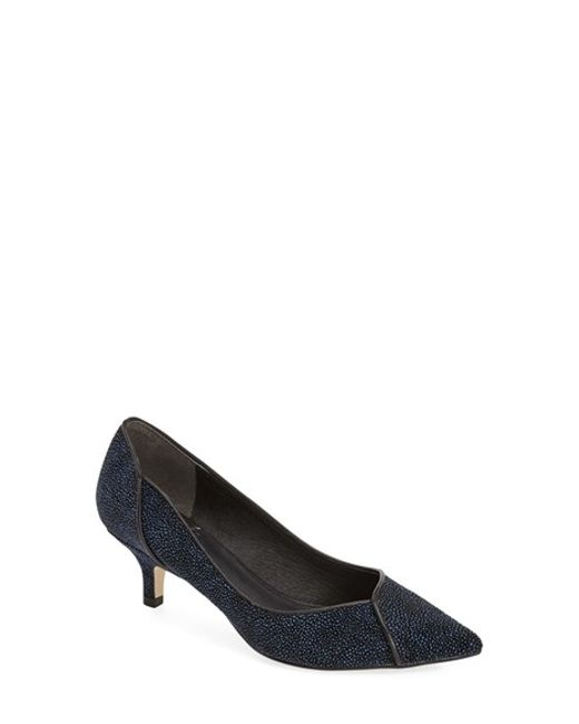 Adrianna Papell | Blue 'lydia' Pointy Toe Pump | Lyst