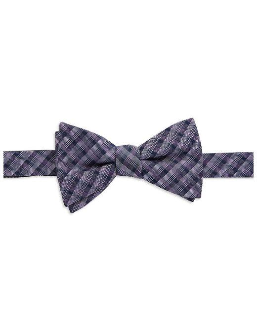 William Rast | Purple Plaid Bow Tie for Men | Lyst