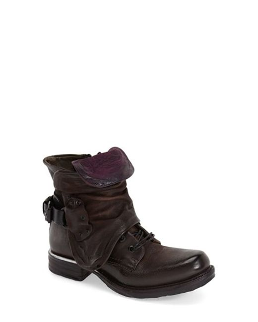 A.s.98 | Brown Simon Leather Ankle Boots | Lyst
