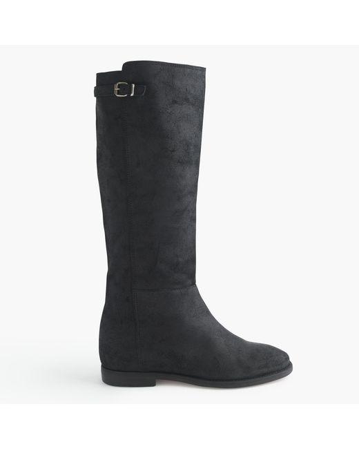 J.Crew | Black Langston Tall Boots | Lyst