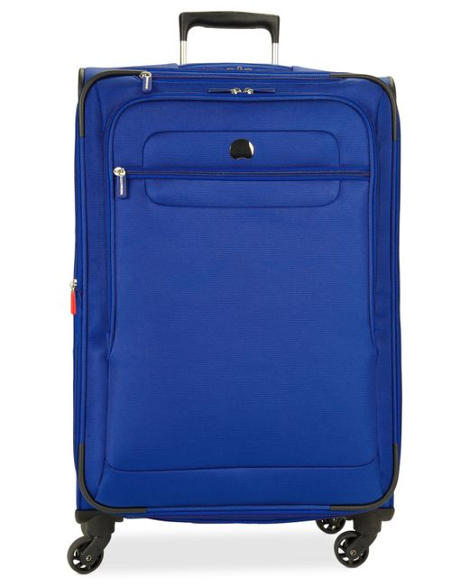 "Delsey | Blue Helium Fusion 25"" Expandable Spinner Suitcase, Only At Macy's for Men 