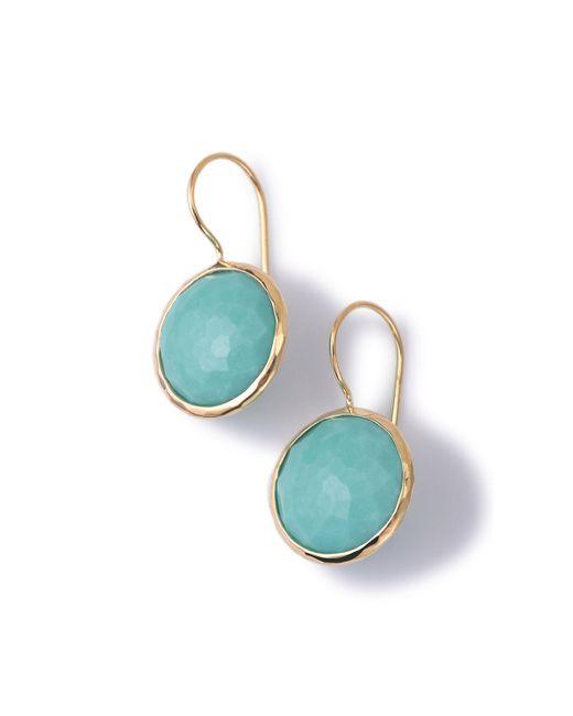 Ippolita   Blue 18k Gold Lollipop Drop Earrings   Lyst
