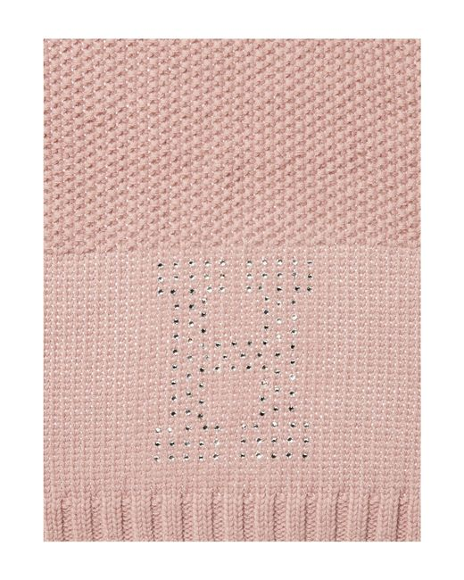Tommy Hilfiger | Pink Sparkle Scarf | Lyst
