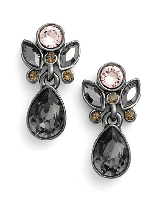 Givenchy | Metallic Small Jeweled Drop Earrings | Lyst