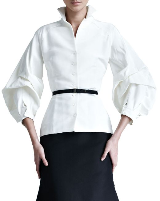 Blouses With Lace Sleeves