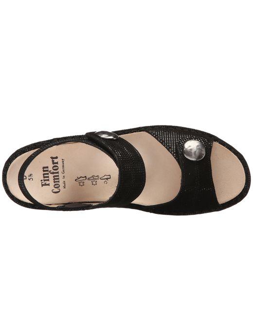 Finn Comfort | Brown Women's Alanya Sandals | Lyst