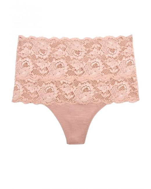 Cosabella | Pink Never Say Never Sexy Shapewear Thong | Lyst
