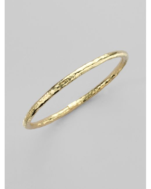 Ippolita | Metallic Glamazon 18k Yellow Gold #2 Bangle Bracelet | Lyst