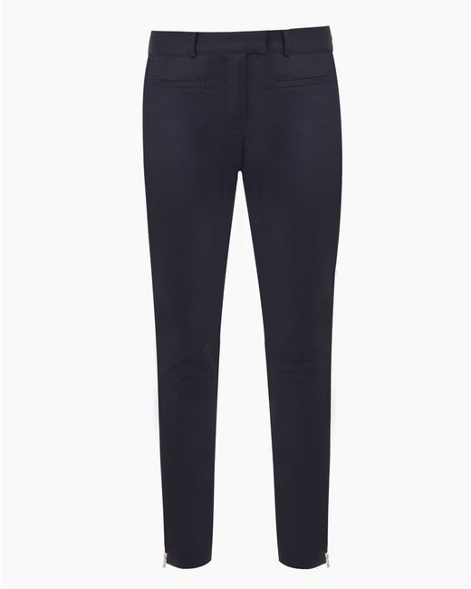 Veronica Beard | Blue Seasonless Skinny Pant | Lyst