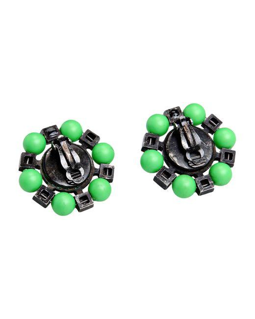 Lanvin   Green Earrings   Lyst