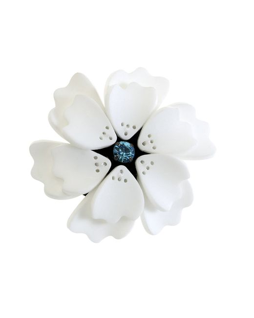 Forest Of Chintz | White Flower Brooch | Lyst