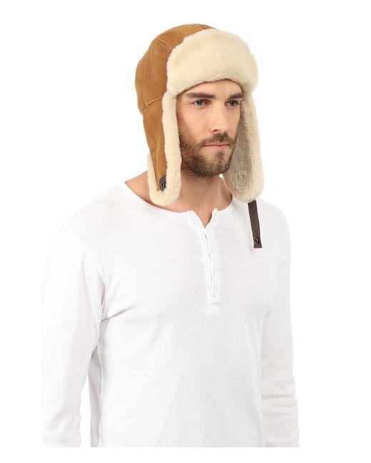 970e53684bb Ugg Mens Trapper Hat Chestnut