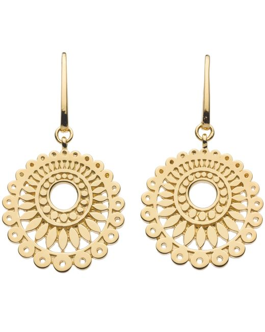 Kit Heath | Metallic Chantilly Drop Earrings | Lyst