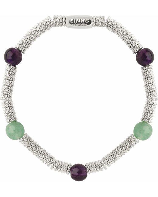 Links of London | Multicolor Wimbledon Effervescence Extra Small Bracelet - For Women | Lyst