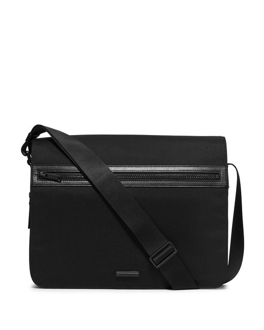 Michael Kors | Black Large Parker Messenger Bag for Men | Lyst