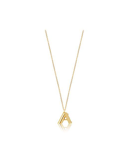 Louis Vuitton | Metallic Lv & Me Necklace, Letter A | Lyst
