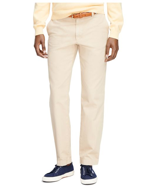 Brooks Brothers | Natural Milano Fit Garment-dyed Chinos for Men | Lyst