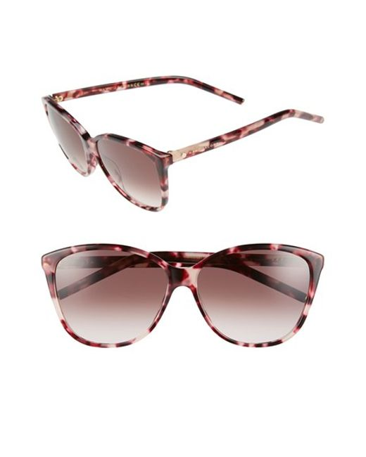 209d74090f4 Marc jacobs 58mm Butterfly Sunglasses in Animal (PINK HAVANA)