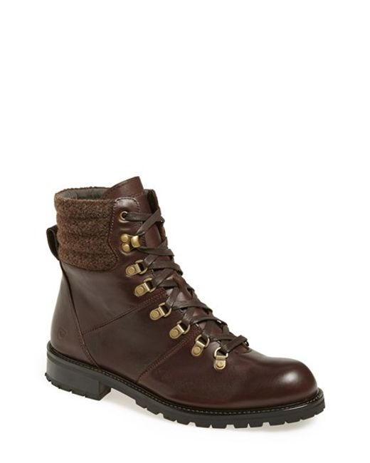 Andrew Marc | Brown 'chester' Plain Toe Boot for Men | Lyst