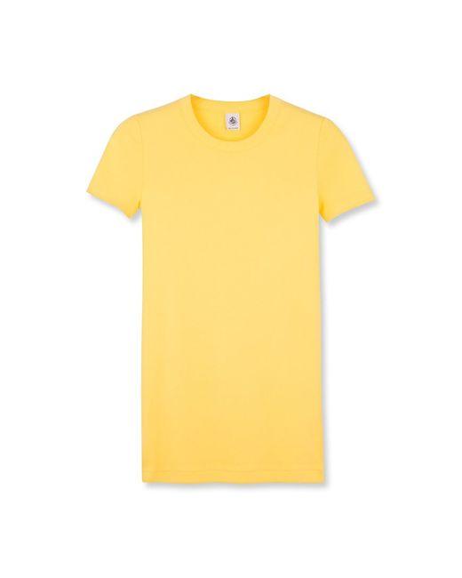 Petit Bateau | Yellow Women's Iconic Cotton Tee-shirt | Lyst