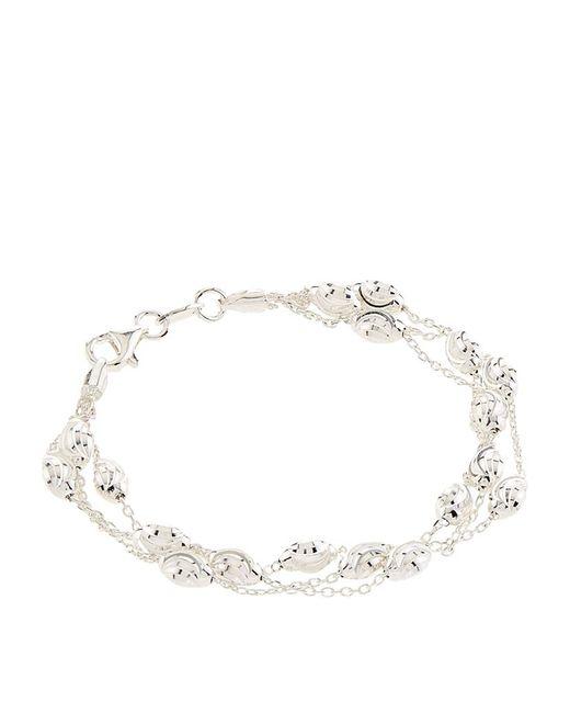 Links of London | Metallic Essentials Beaded Chain Bracelet | Lyst