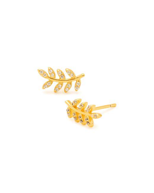 Gorjana | Metallic Olympia Shimmer Stud Earrings | Lyst