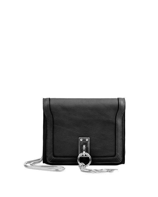 Linea Pelle | Black Crosby Shoulder Bag | Lyst