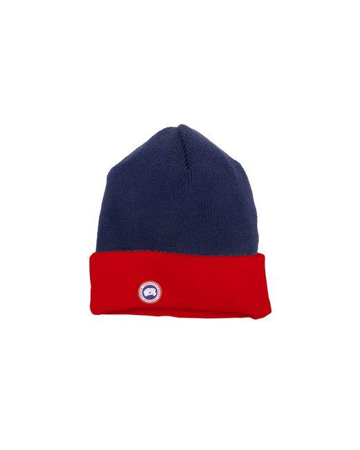 Canada Goose | Blue Merino Wool Watch Cap | Lyst
