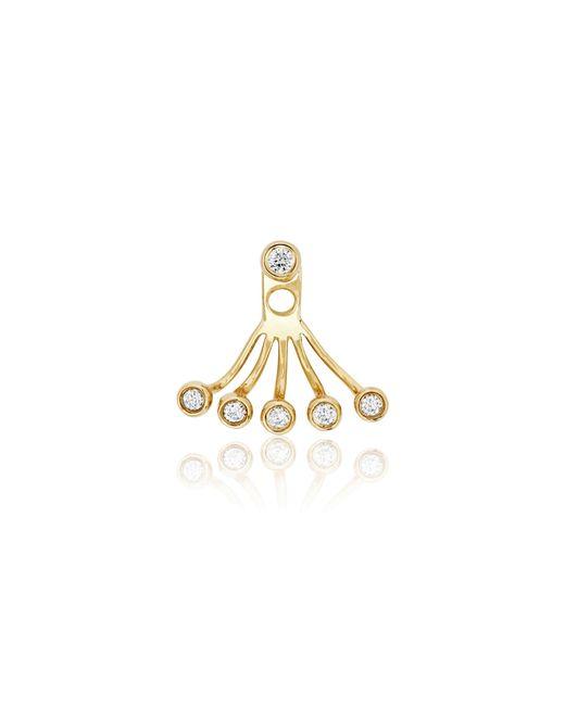 EF Collection | Metallic Diamond Bezel Ear Jacket | Lyst