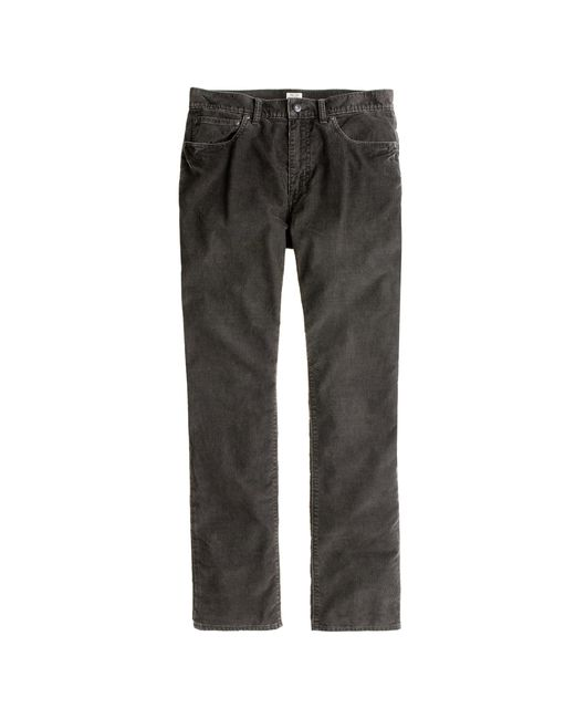 J.Crew | Gray Vintage Cord In 1040 Athletic Fit for Men | Lyst