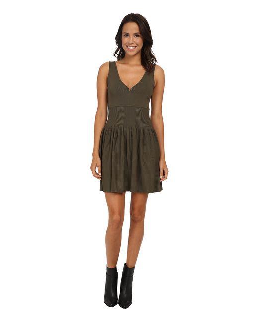 DIESEL | Green M-breed Dress | Lyst