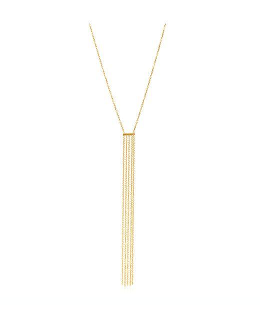 Zoe Chicco | Metallic 14k Short Fringe Necklace | Lyst