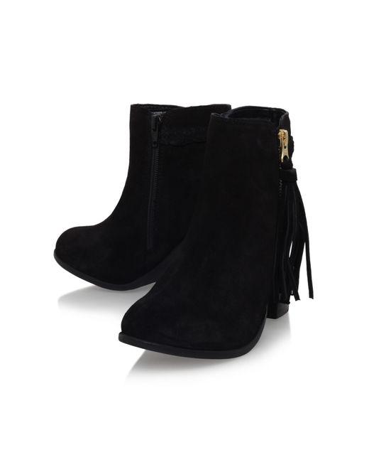 Carvela Kurt Geiger   Black Tegan High Heel Zip Ankle Boots   Lyst