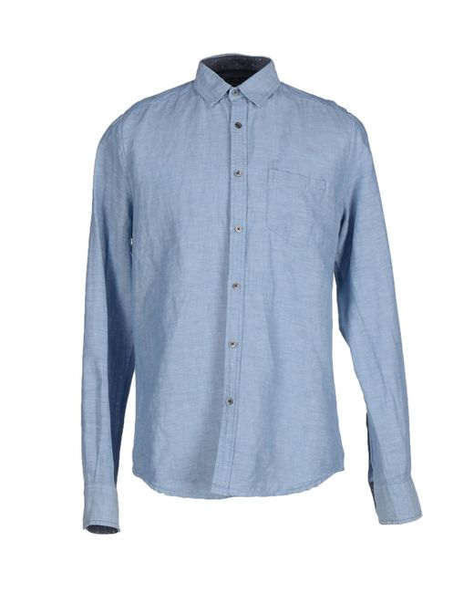 Gilded Age | Blue Denim Shirt for Men | Lyst