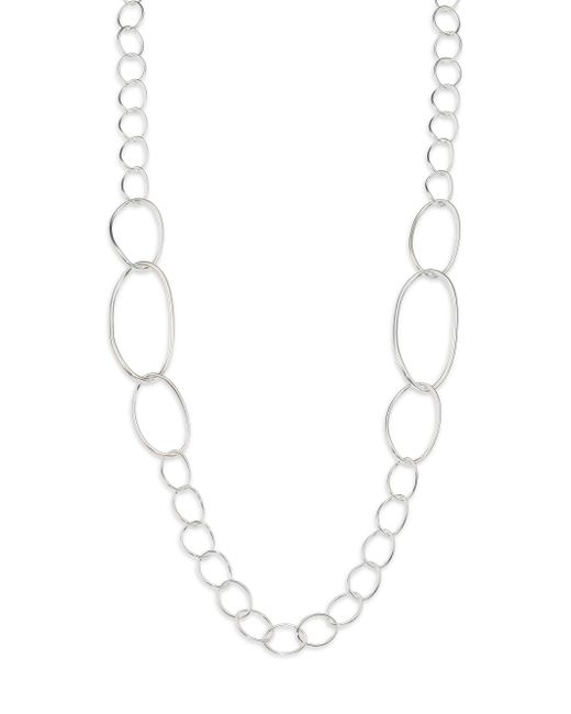 Ippolita | Metallic Glamazon Sterling Silver Twisted Oval Link Necklace | Lyst