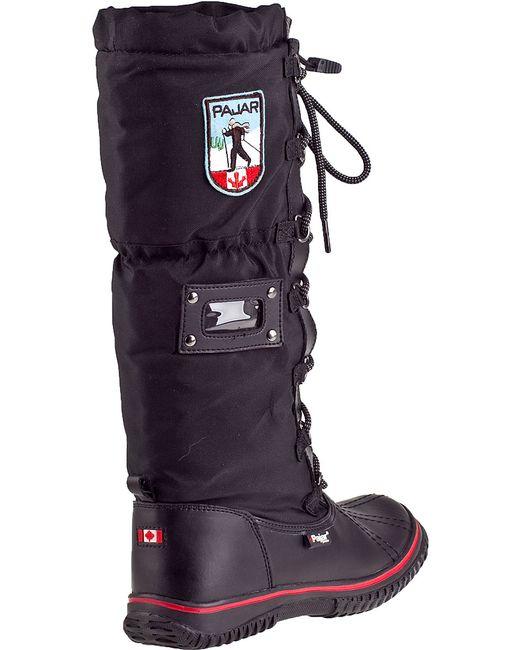 Pajar | Grip Classic Tall Boot Black Fabric | Lyst