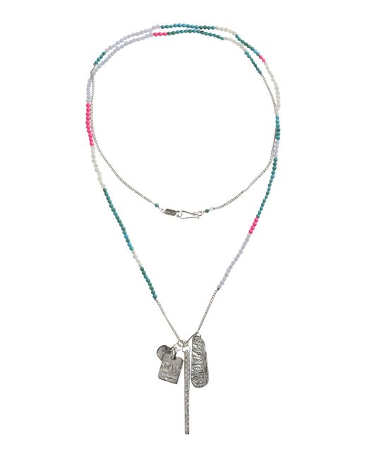 Chan Luu | Metallic Necklace | Lyst