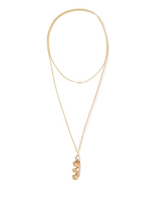 Imogen Belfield | Metallic Triple Star Necklace | Lyst
