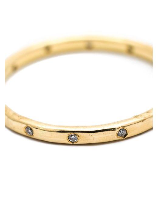 Melissa Joy Manning   Metallic Diamond Band Ring   Lyst