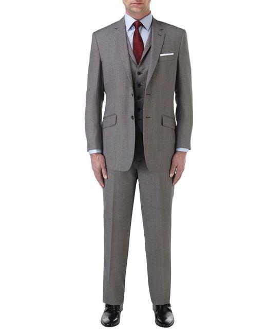 Skopes   Gray Reagan Suit Trouser for Men   Lyst
