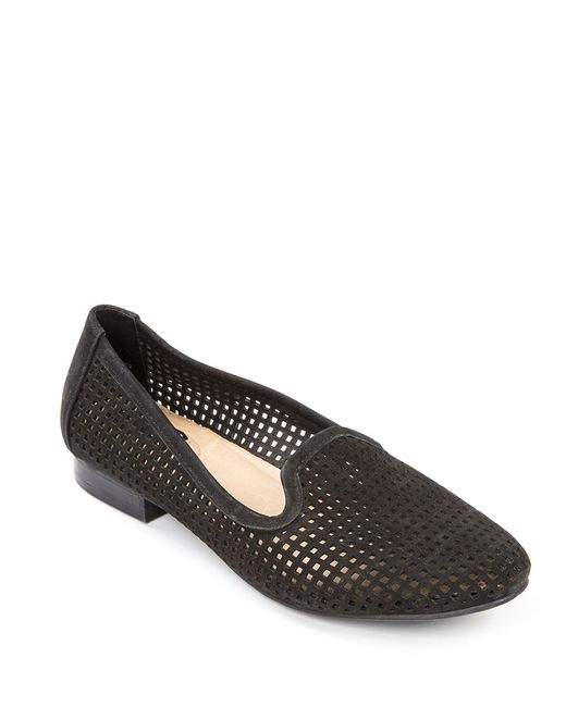 Me Too | Black Yale Suede Loafers | Lyst