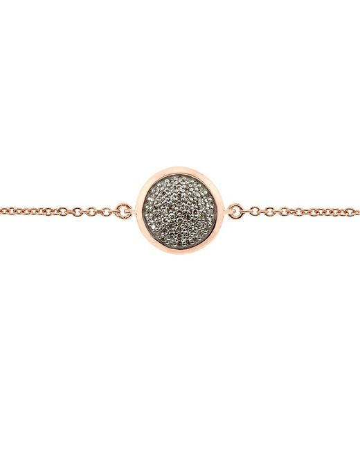 Links of London | Metallic Diamond Essentials Pave Round Bracelet | Lyst