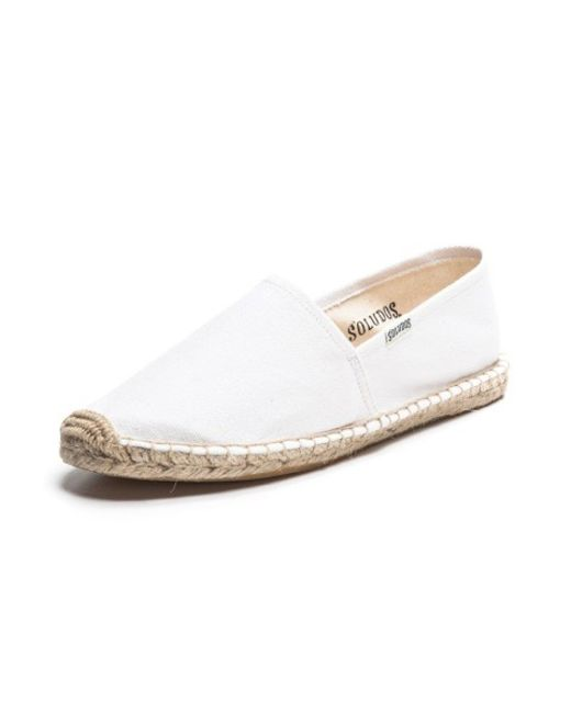 Soludos | White Women's Original Dali Slipper | Lyst
