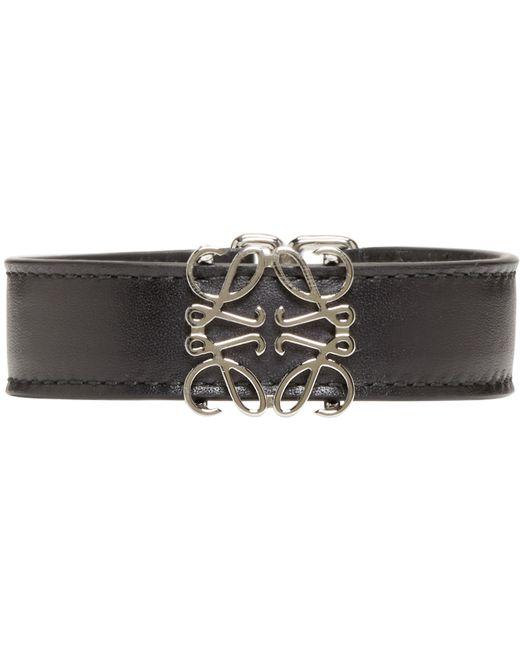 Loewe | Black Anagram Belt Bracelet | Lyst
